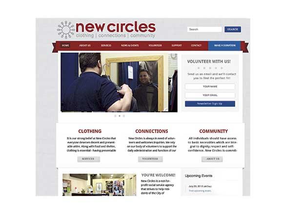 New Circles Website