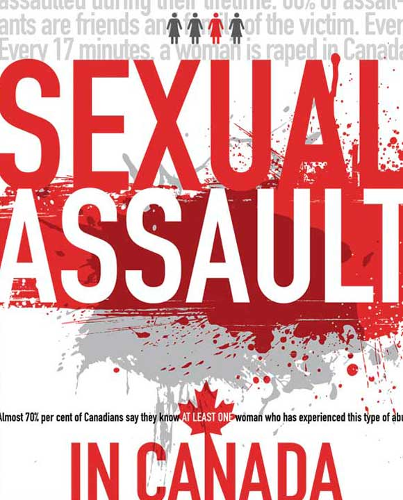 Sexual Assault in Canada Infographic