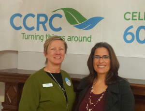 CCRC Rebrand Launch Casey Ready & Sherri Gallowitz